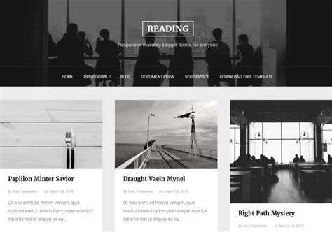 read more templates for blogger reading blogger template blogspot templates 2018