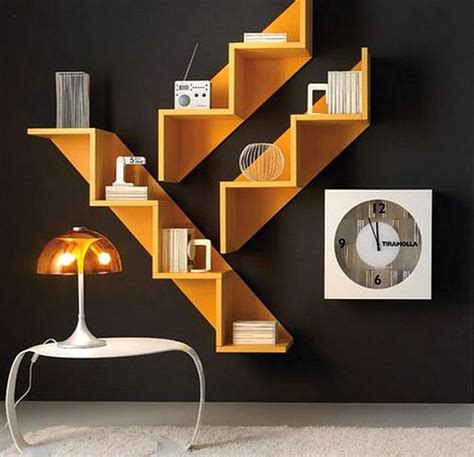 28 model rak buku minimalis yang unik terbaru 2018 dekor