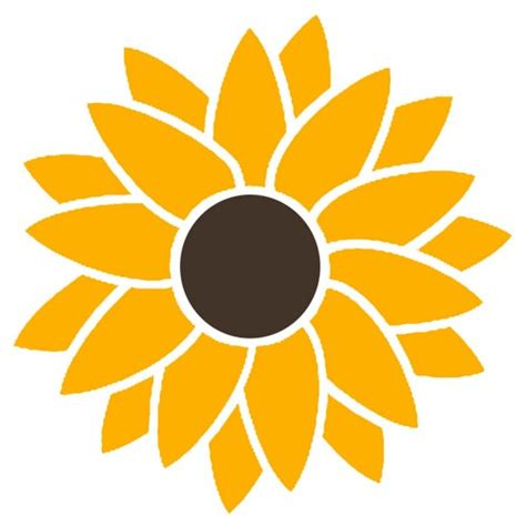 House Silhouette by Smaller 2 Color Sunflower Hippie Flower Power Vinyl