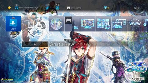 ps4 themes empty ys viii lacrimosa of dana adol christin trailer free
