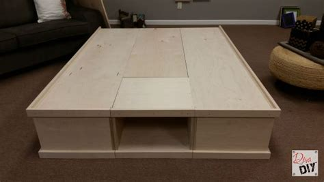 make your own platform bed how to make your own diy platform bed with storage