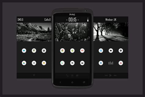buzz launcher themes mobile9 flats app and android on pinterest