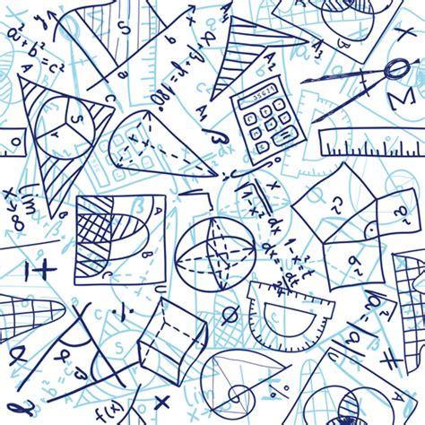 Pattern Design School | school elements vector pattern set 03 vector pattern
