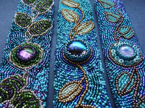 25 unique bead embroidery patterns ideas on