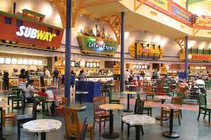 start your mall food court restaurant link on map