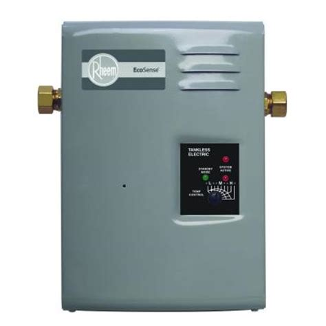 rheem ecosense rete 9 9kw 1 37 gpm point of use tankless
