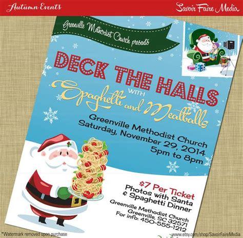 raffle ideas for christmas party spaghetti dinner flyer poster photos with santa fundraiser church school community