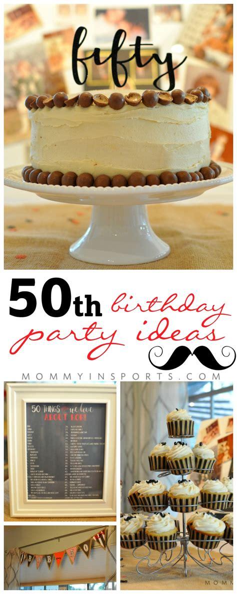 50th birthday party ideas kristen hewitt