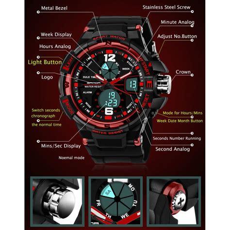 Sanda Jam Tangan Sporty Pria Sd 799 sanda jam tangan sporty pria sd 289 black jakartanotebook