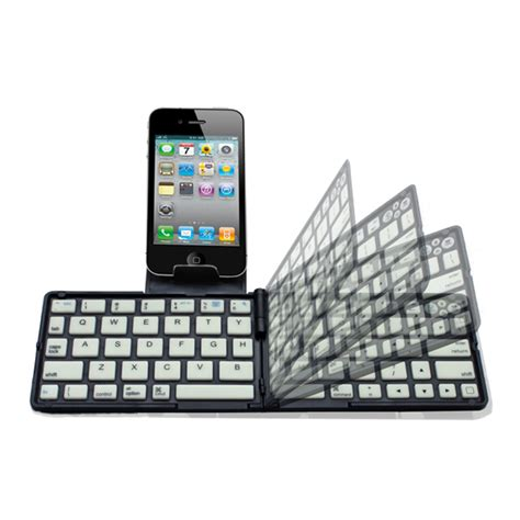 Wireless Keyboard Tablet Android k66 mini folding bluetooth wireless keyboard backlight mini pocket keyboard for mini