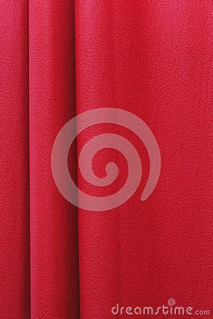 red leather curtains folded red leather curtain royalty free stock images