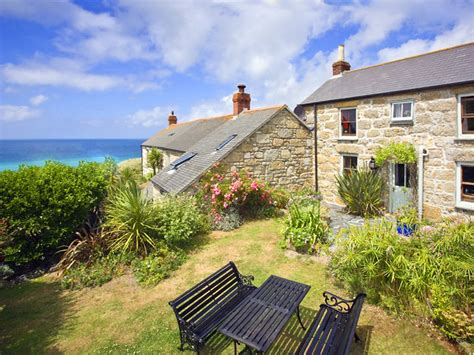 Cottages Uk By The Sea by Whiterose Cornish Cottage With Sea Views Garden Situated 8131908
