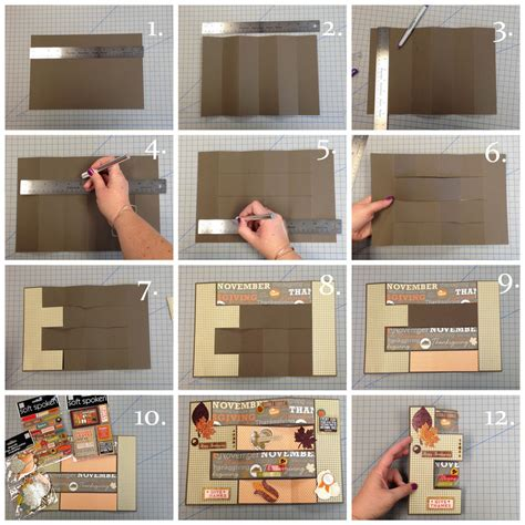 how to make an accordion card accordion thanksgiving card me my big ideas