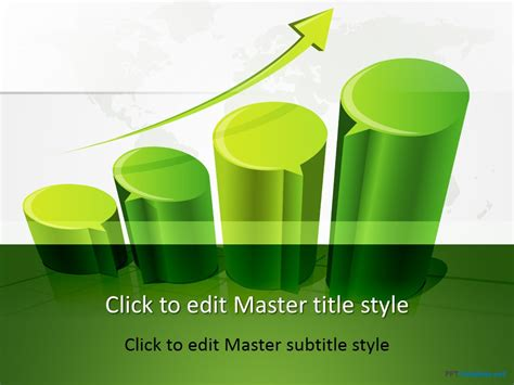 Free 3d Chart Ppt Template Free 3d Powerpoint Presentation Templates