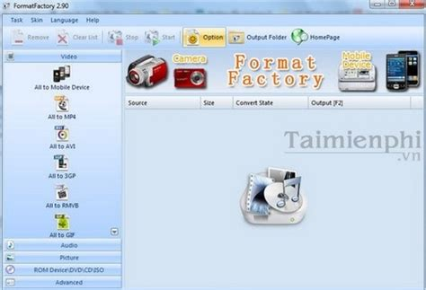 format factory portable mega 2015 đổi đu 244 i video bằng format factory đổi file video bằng
