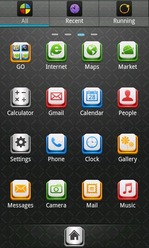 go launcher themes cool tema theme per smartphone android black cool go launcher