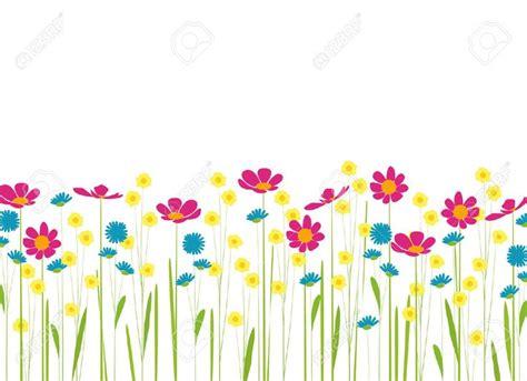 imagenes de flores kiut prado con flores de colores de dibujos animados