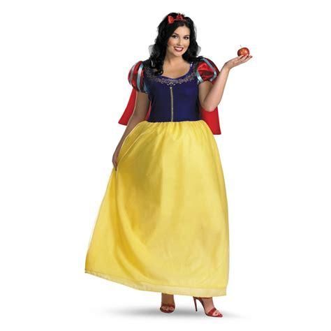 Snow White Dress Xl snow white deluxe disney costume size 18 20 xl plus disguise 50491f ebay