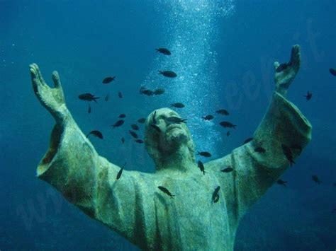 dive di scuba diving il cristo degli abissi san fruttuoso bay