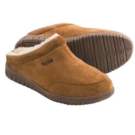 slide in slippers aussie dogs aussie slide slippers shearling lining for