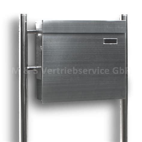 standbriefkasten modern edelstahl standbriefkasten modern zeitungsfach design