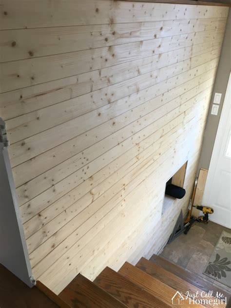 Shiplap From Plywood Faux Shiplap Entry Just Call Me Homegirl