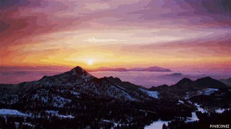 Landscape Gif Sunset Landscape Gif Find On Giphy