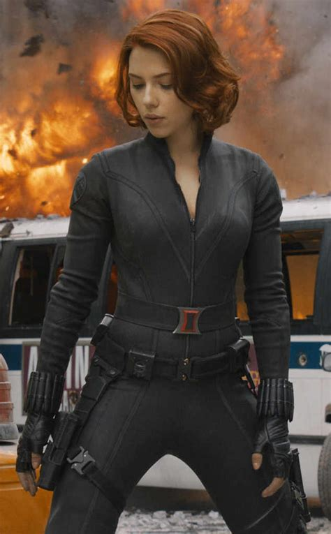 Marvel Ls Uk by Johansson Black Widow From