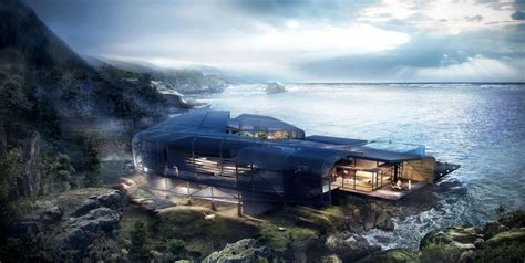 cliff house making of cliff house 3d architectural visualization