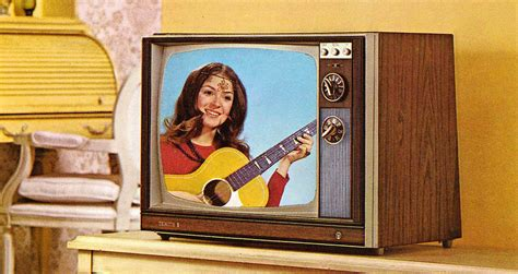 color tv show 1962 color tv from 1971 vintage everyday
