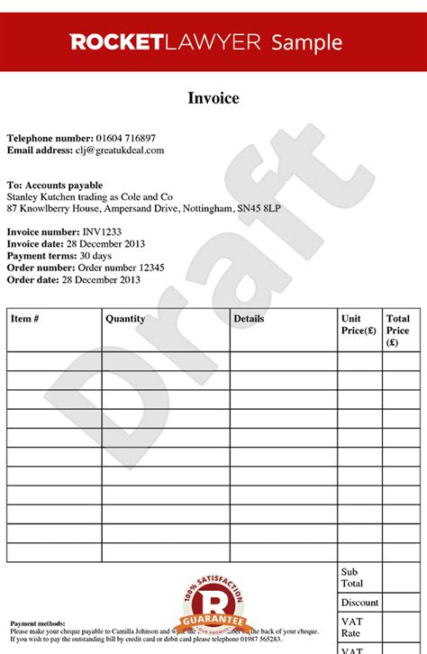make an invoice template invoice template free invoice template create an
