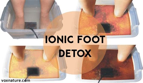 Ionic Foot Detox Weight Loss by Best 25 Foot Detox Ideas On Foot Detox Soak