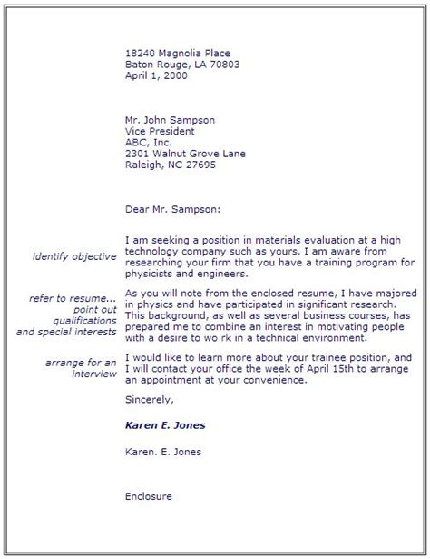 Employment Gap Letter Sle Cover Letter Explaining Gap In Employment 14600