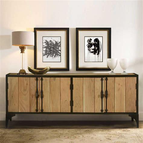 industrial sideboard warsaw modern mango wood iron industrial sideboard cabinet