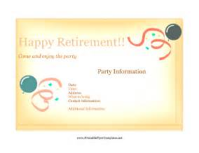 Retirement Flyer Template Free by Flyer For Retirement