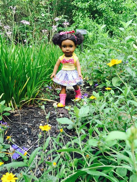 The Doll In The Garden by Black Doll Collecting Kendall S Zilker Botanical Garden