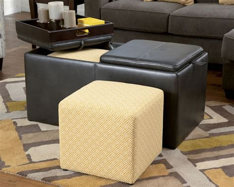 storage cube ottoman with tray storage cube ottoman with tray into the glass 24 best