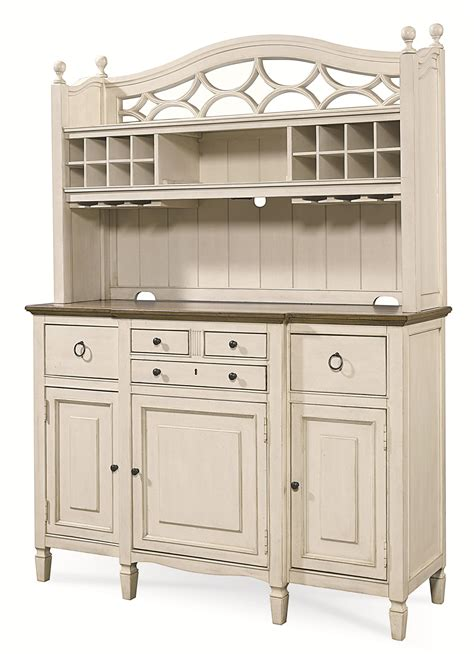 Universal Furniture Bar Cabinet Universal Summer Hill 2 Pc Serving Buffet And Bar Hutch With Wine Storage Baer S Furniture