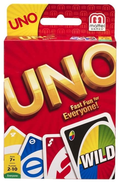 Or Uno Cards Uno Card Classic Card Made In Usa Brand