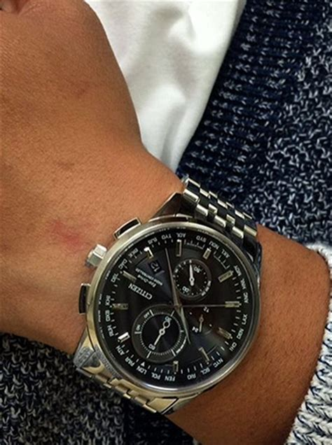 Citizen Citizen Eco Drive World Chronograph A T AT8110 53E World Chronograph AT