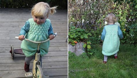 Waffel Dress waffel dress pickles free knitting for babies