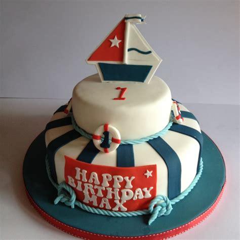 nautical themed birthday cake nautical cake