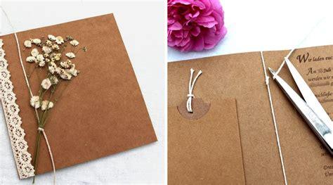 Einladungskarten Hochzeit Blumen by Vintage Einladungskarten F 252 R Deine Hochzeit Zum Selber Basteln