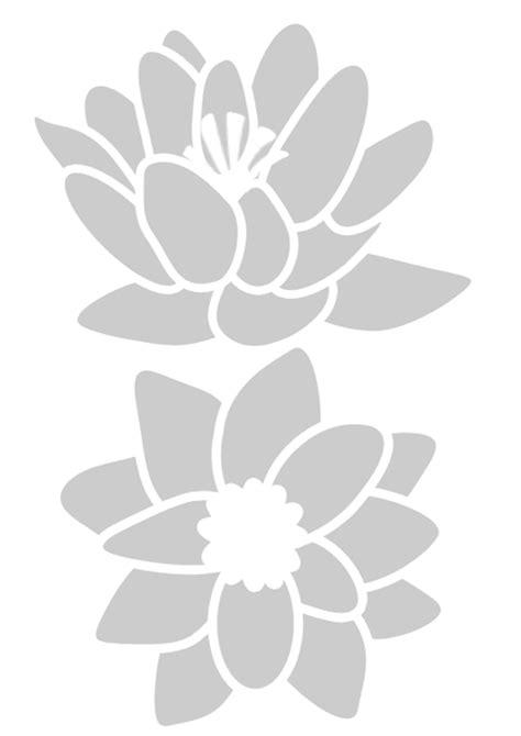 stencil fiori per pareti stencil da stare gratis imagui