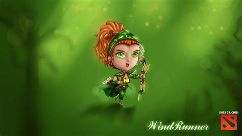 Chibi Dota 6 chibi dota 2 windrunner by hothanhlamleok on deviantart