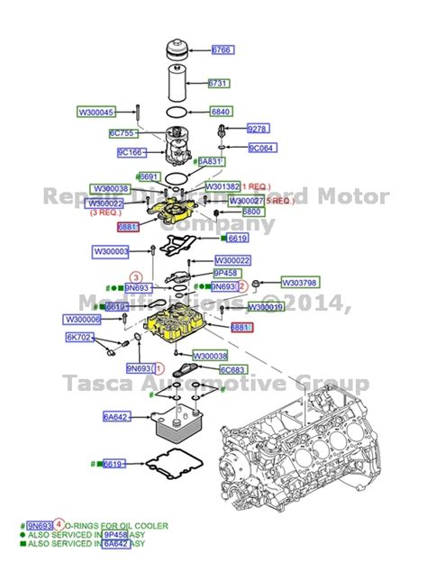 oem oil filter adapter ford excursion     sd  diesel ebay