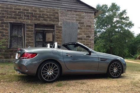 mercedes world reviews 2017 mercedes slc300 real world review autotrader