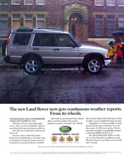 electronic stability control 1999 land rover discovery series ii seat position control 1999 land rover discovery ad classic cars today online