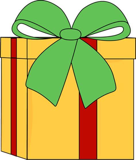 yellow christmas gift clip art yellow christmas gift image