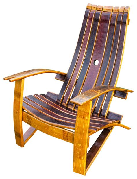 Wine Barrel Products Wine Barrel Adirondack Chair With Adirondack Office Furniture